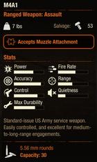 M4A1SOD2Stats
