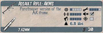 AKMS Infocard