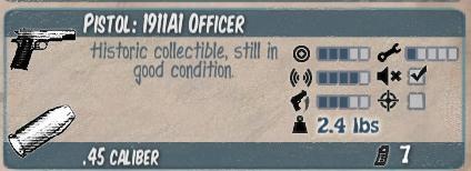 1911A1 Officer