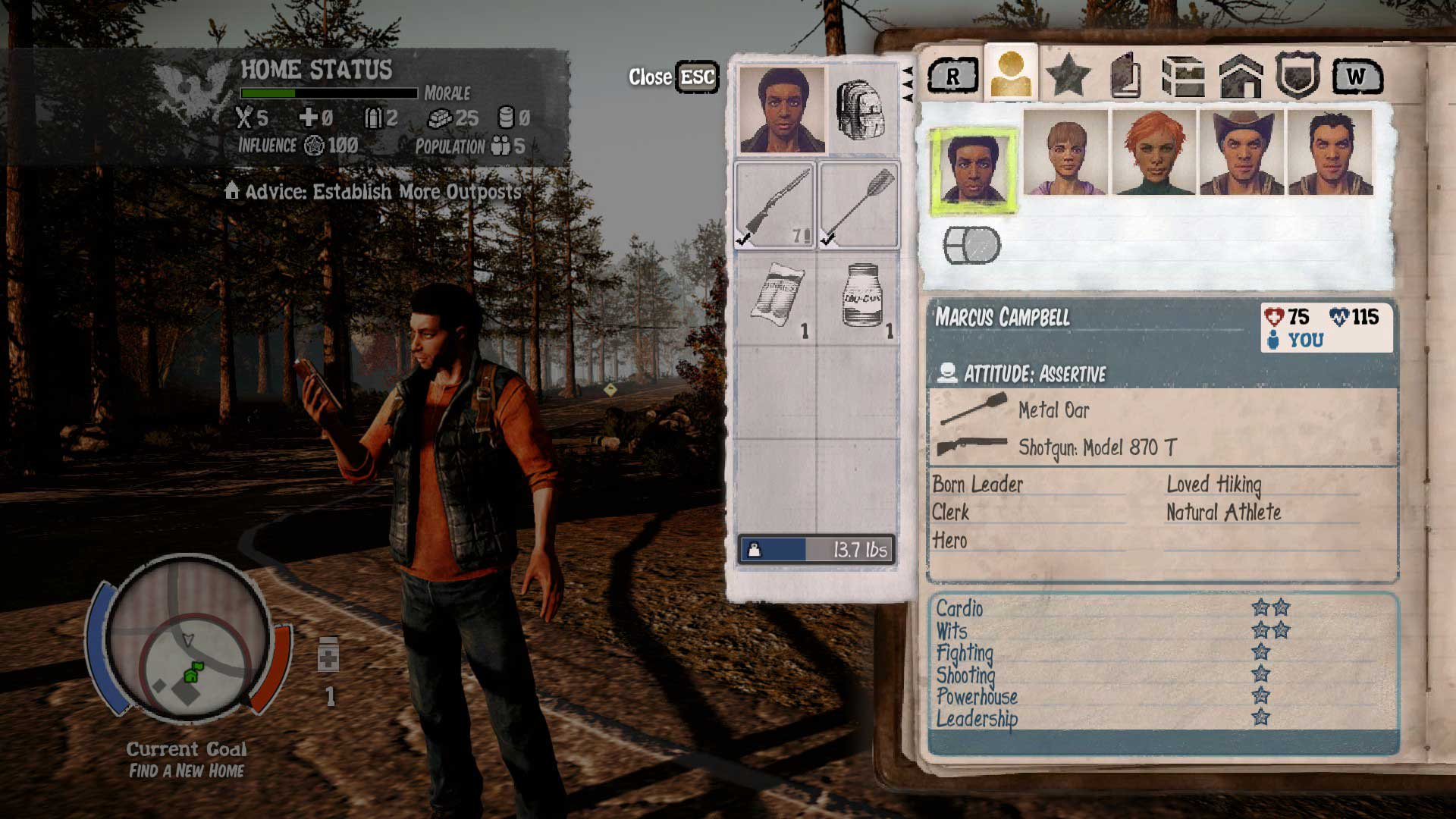 Marcus Campbell | State of Decay Wiki | FANDOM powered by Wikia
