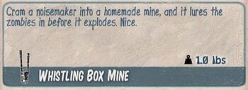 Whistling box mine