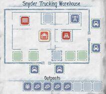 Snyder Trucking Warenhaus Grundriss