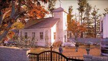 Himmelfahrtskirche Außenansicht
