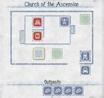 Himmelfahrtskirche Grundriss