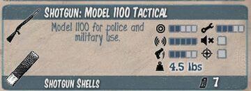 Model 1100 Tactical