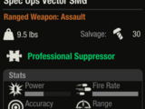 Spec Ops Vector SMG