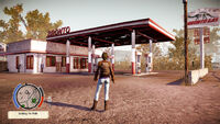 Bronto Gas Station