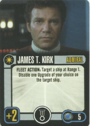 Admiral james t kirk