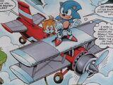 Tails' Bi-plane
