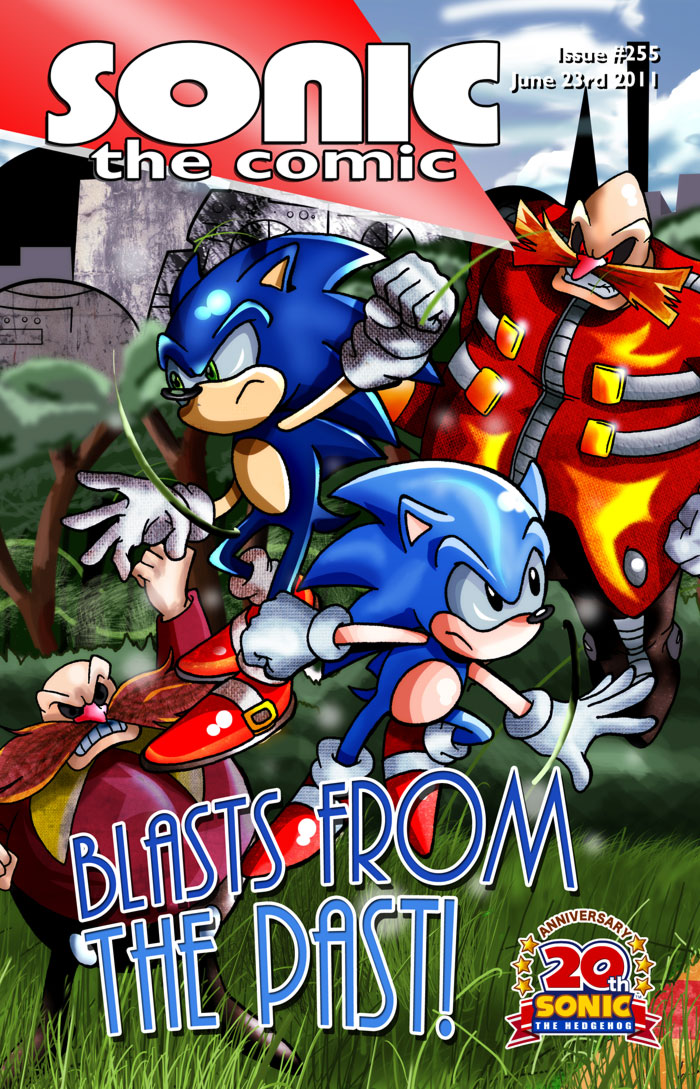 issue 255 sonic the comic wiki fandom powered by wikia