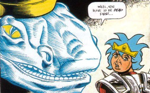 Wonder Boy In Ghost World Is A 6 Part Story The Second And Final Strip Series Directly Following On From Demon