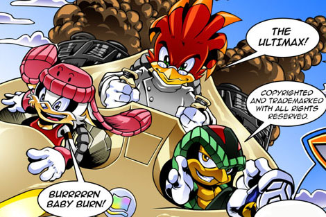 the ultimax sonic the comic wiki fandom powered by wikia