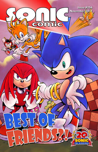 Issue 256 Sonic The Comic Wiki Fandom