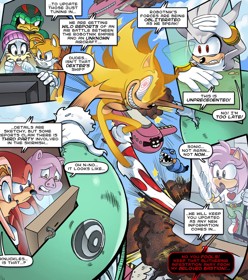 unleashed sonic the comic wiki fandom powered by wikia