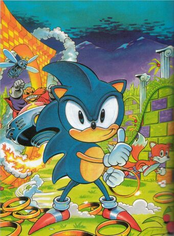 The Official Sonic The Hedgehog Yearbooks Sonic The Comic Wiki Fandom