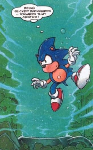 Trapped In The Vortex Sonic The Comic Wiki Fandom