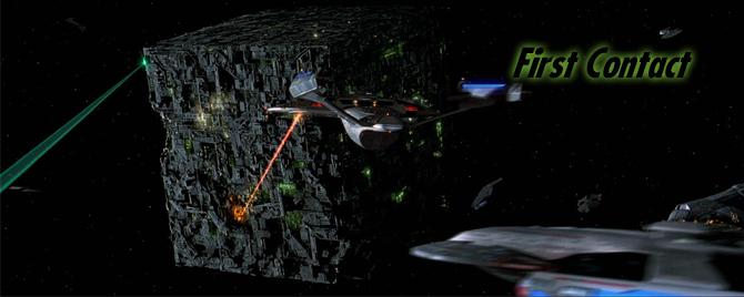 Star Trek CCG FC First Contact Visit Cochrane Memorial