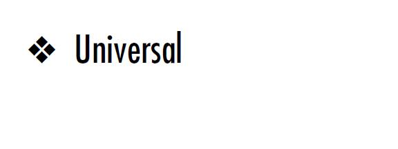 Universalicon