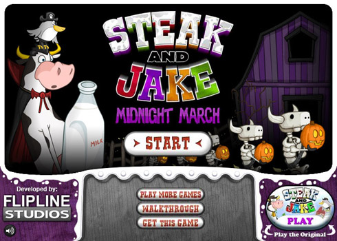 Steak and jake 2 screen