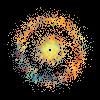 Ion Otrazheniye E0 Ringed Dwarf Galaxy Stars