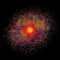 Rose E2 Dwarf Galaxy Stars