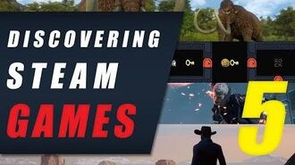 Discovering Steam Games EP 5 • Devil May Cry 5, Baba Is You, Outlaws Of The Old West & Dawn Of Man