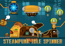 Workshop in Steampunk Idle Spinner