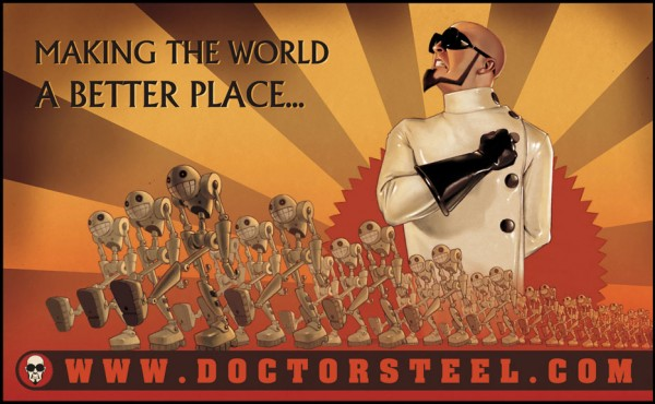 Dr steels world domination