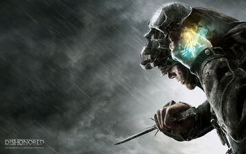 Dishonored game-poster