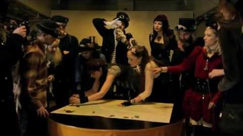 DRACHENFLUG - KLANGTEST (official steampunk music video)