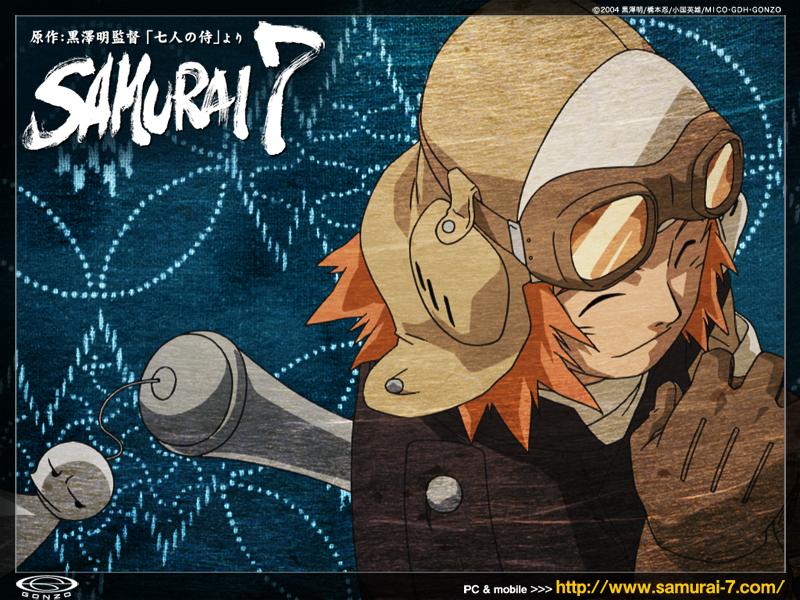 Samurai 7 Anime Characters : Samurai 7 steampunk wiki fandom powered by wikia