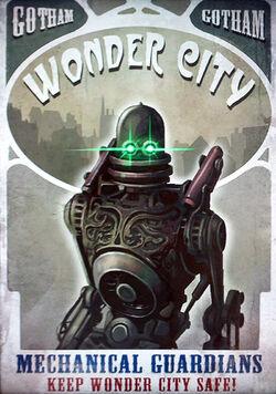 Arkham City - Wonder City poster