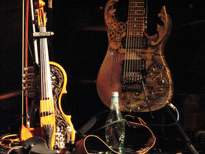 Steampunked instruments.