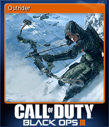 Call of Duty: Black Ops III - Outrider | Steam Trading Cards