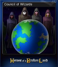 Heroes of a Broken Land Card 7