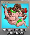 Mount Your Friends Card 02 Foil
