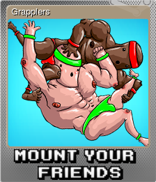 Mount Your Friends Card 02 Foil