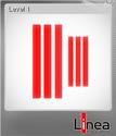 Linea, the Game Foil 1