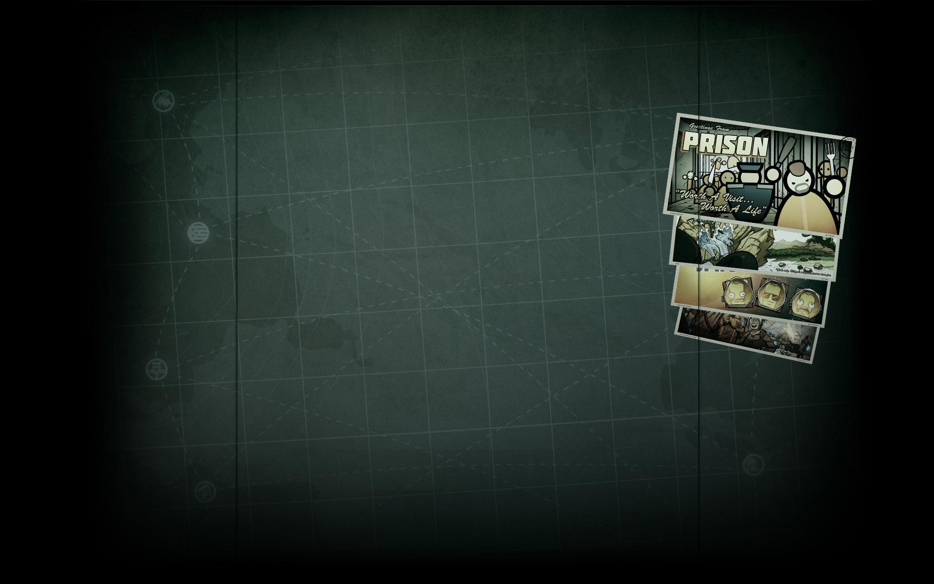 Steam Summer Getaway Background Postcards Prison Architect