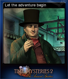 Time Mysteries The Ancient Spectres Card 1