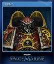 Warhammer 40,000 Space Marine Card 8
