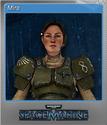 Warhammer 40,000 Space Marine Foil 1