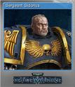 Warhammer 40,000 Space Marine Foil 3