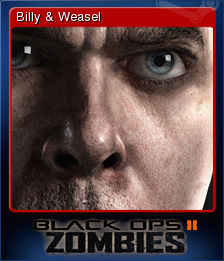 Call of Duty Black Ops II Zombies Card 10
