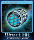 Direct Hit Missile War Card 4