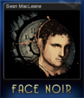 Face Noir Card 4