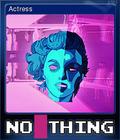 NO THING Card 3