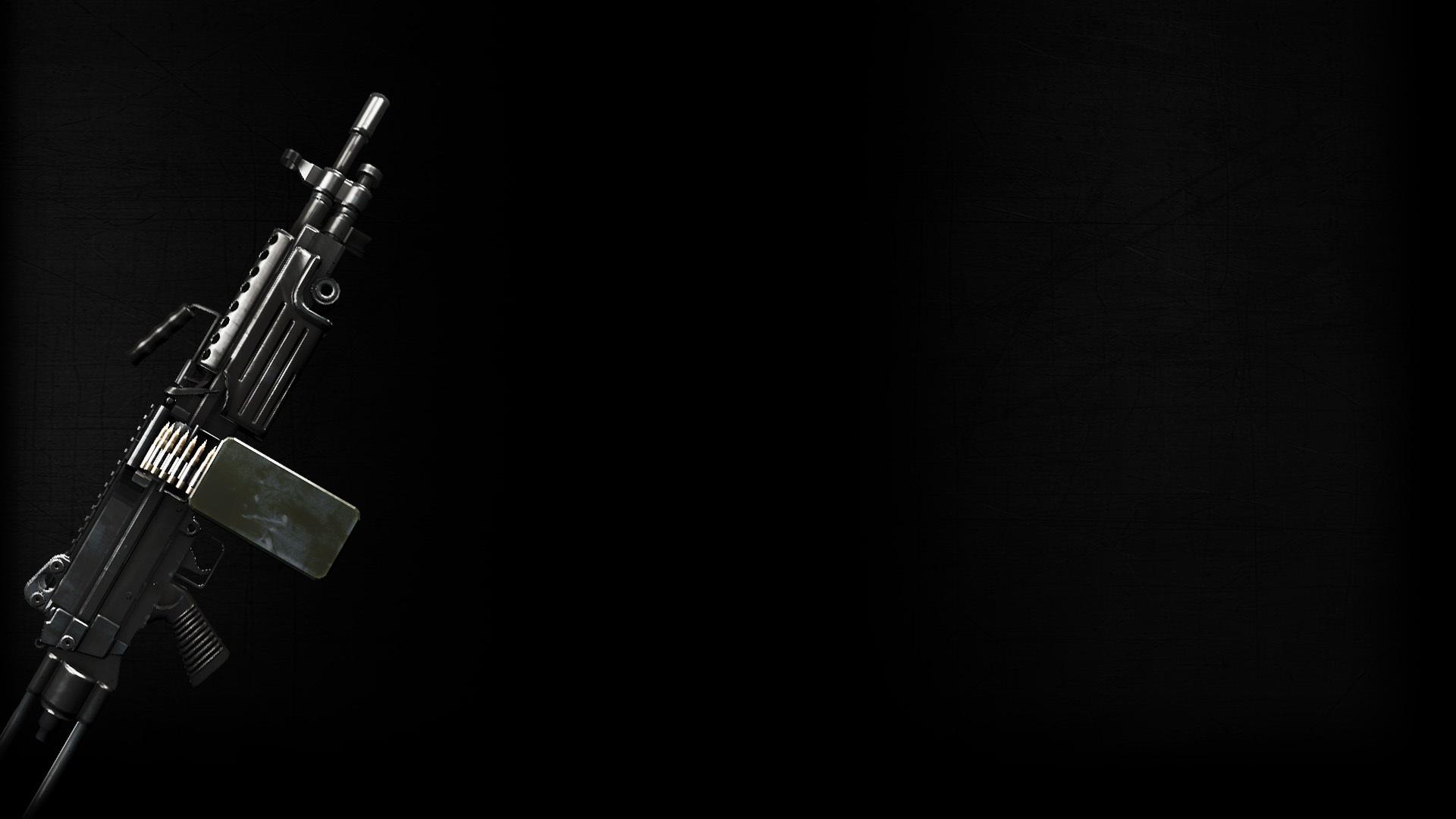 image - rambo the video game background heavy machine gun