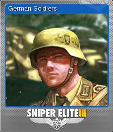 Sniper Elite 3 Foil 5