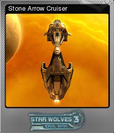 Star Wolves 3 Civil War Foil 5